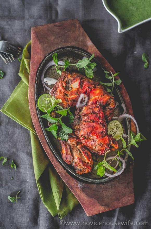 Tandoori Chicken | The Novice Housewife