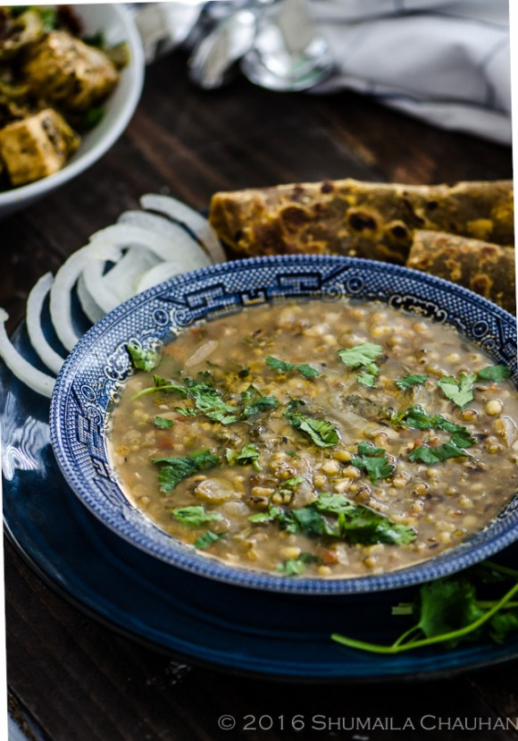 Whole Green Lentils | The Novice Housewife
