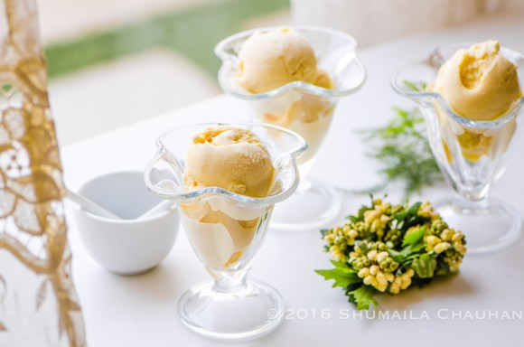 Homemade Passionfruit Icecream (eggless recipe)
