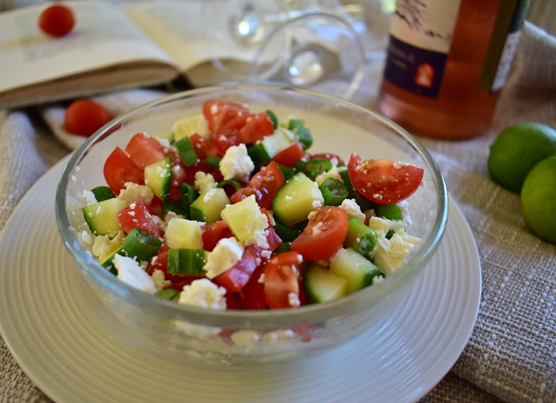 Quick and Easy Tomato Salad