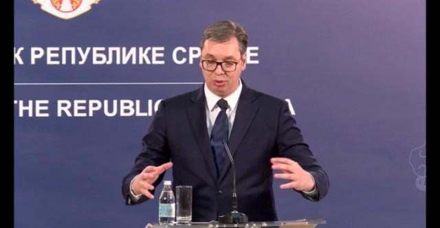 Vučić se obraća javnosti danas u 10 časova