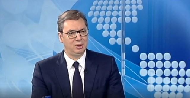 Vučić: Ja sam za razgraničenje na Kosovu, to je najzdravije za Srbe i Srbiju