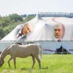 Opozicija počela da seli beli šator iz grada u grad