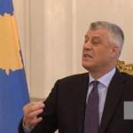Tači: Kosovo se oseća kažnjenim i prevarenim od Evropske unije