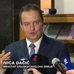 Dačić: Razgovor Rame i Tačija o ujedinjenju Albanaca, ukidanju granica i pripajanju tri opštine sa juga Srbije Kosovu, je vrhunac bezobrazluka albanskih političara