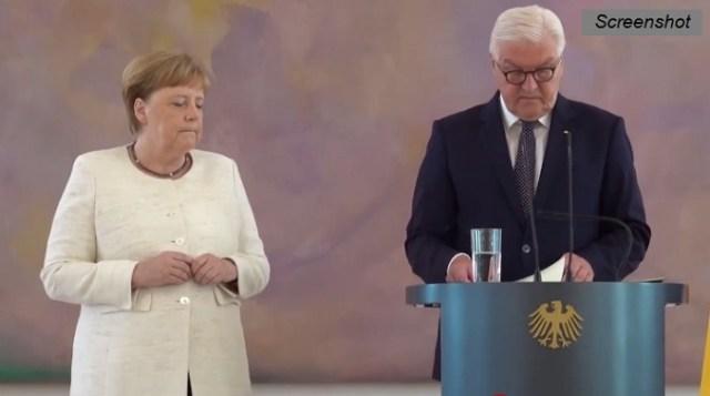 Da li je zdravlje Angele Merkel ugroženo? (VIDEO)