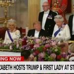 Kraljevski doček za Trampa u Britaniji (VIDEO)