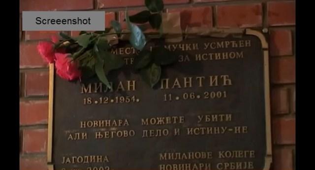18 godina od ubistva Milana Pantića. Ubice i dalje na slobodi