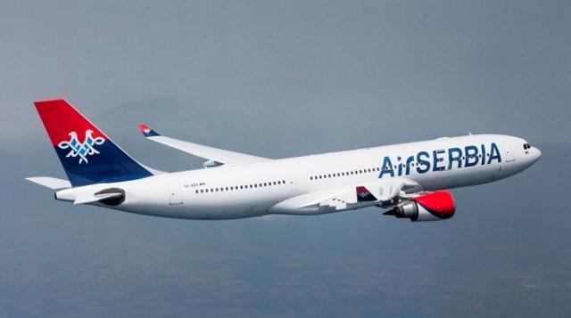 Obavezno nošenje maski na letovima Er Srbije