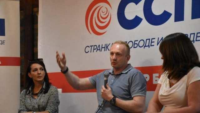 Đilas: Jasno sam rekao, SSP neće učestvovati ako kompletan sastanak ne bude otvoren za javnost