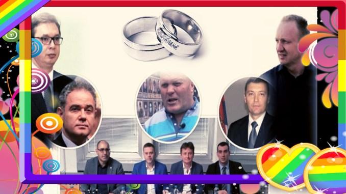 Pregovori oko udaje, Simo dočekao goste: Đuka, Lutovac, Glišić, Zelenović, Orlić, DSS, LDP, SMS, NS jedan i NS drugi i znatiželjne komšije