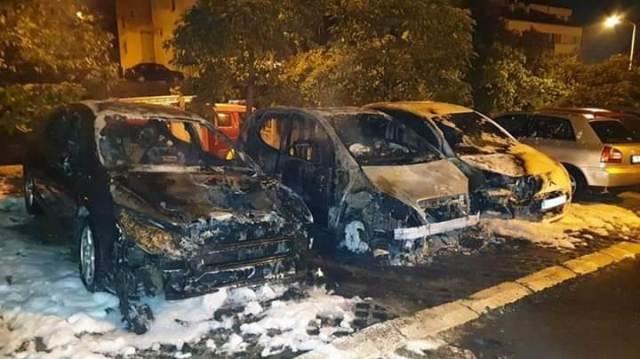Lazarevac: Eksplodirali automobili opozicionog aktiviste! Protest večeras u 19 časova