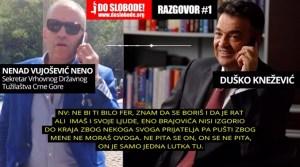 Medijima dostavljen snimak o navodnoj korupciji Vrhovnog državnog tužioca CG