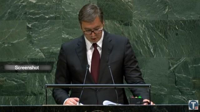 Vučić u UN: Problem Kosova opterećuje ekonomski razvoj