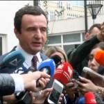 Kurti: U vladi ne mora da bude niko iz Srpske liste