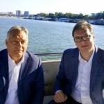 Orban u iznenadnoj poseti Beogradu