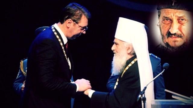 Vladika Atanasije vratio Irineju panagiju zbog dodele ordena Aleksandru Vučiću