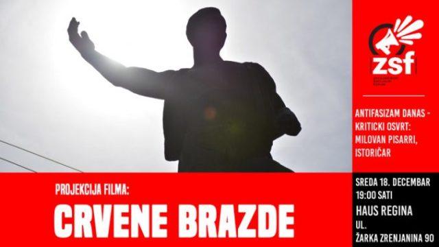 """Premijera dokumentarnog filma """"Crvene brazde"""" u Zrenjaninu"""