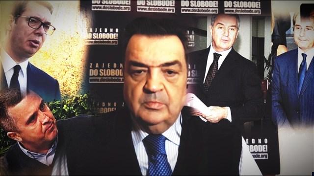 Knežević: Kandidovaću se za predsednika CG! Iza Informera stoji Beba Popović; Đukanović je pomogao Vučiću da dođe na vlast.
