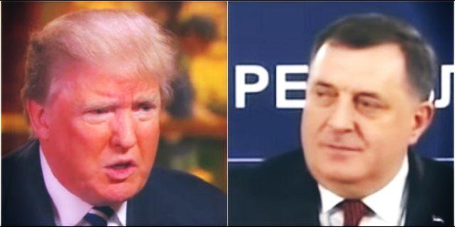 Tramp s porodicom čestitao Dodiku praznike