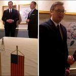 Vučić se sastao s Grenelom, sutra sporazum Beograda i Prištine o železnicama