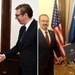 Godfri uručio Vučiću Trampovu čestitku povodom Dana državnosti