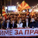 Zaev na protestnom maršu: Narod je željan efikasne, brze i pravične pravde