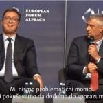 Tači: Radujemo se skorom okončanju dijaloga Srbije i Kosova, uz uzajamno priznanje