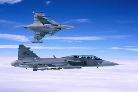 Saab Gripen (http://www.novinite.com)