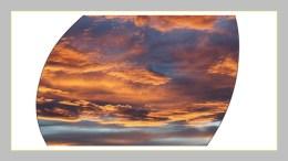 Nuvole al tramonto Domenico Corna