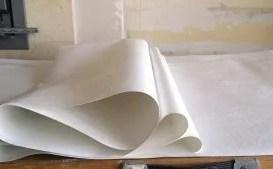 Concertina fold