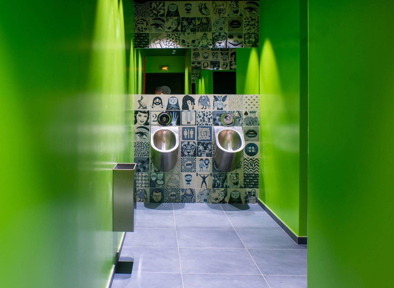 Carrelage Pour Toilette Et WC Imitation Carreaux Ciment