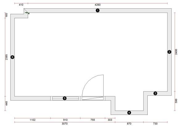 3208 Estudiar y valorar cocina integrada de 10 a 11 m2