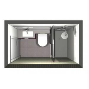 3208 Estudiar y valorar baño de 2 a 3 m2