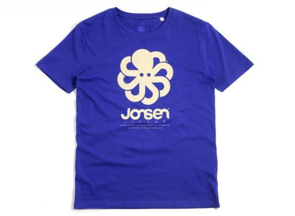 """Jonsen Island T-Shirt """"BIG"""" Deep Royal Blue / Soldes ..."""