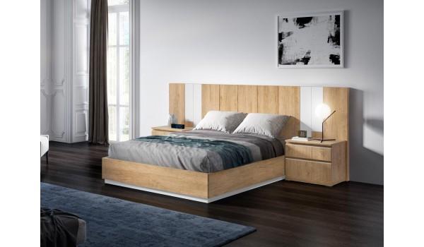 lit adulte complet avec sommier relevable