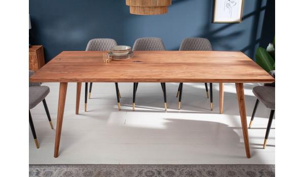 table de salle a manger bois design 160 cm