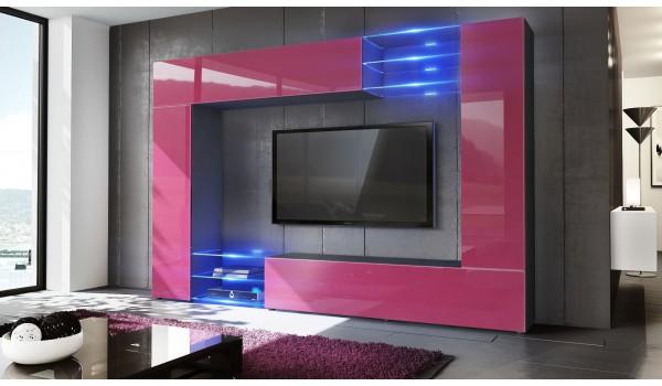 meuble tv mural design 12 finitions moderne au choix