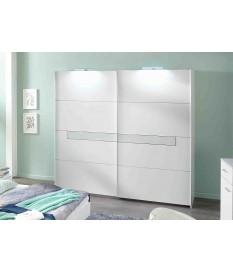 armoire double penderies blanche meuble