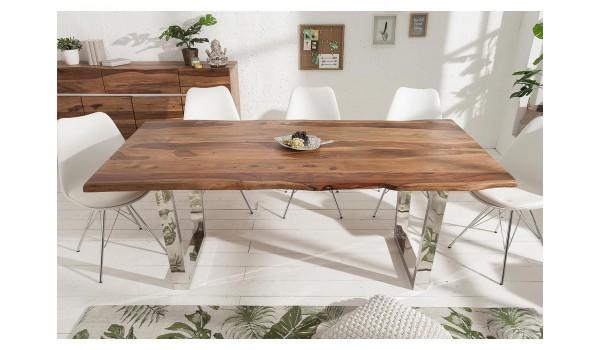 table de salle a manger design bois massif