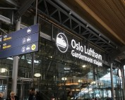 Oslo Airport (OUGN18 conference)