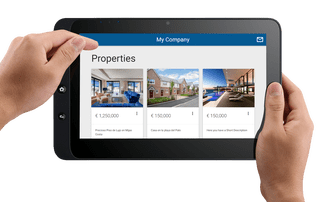 sCRM - Property Sales - Tablet
