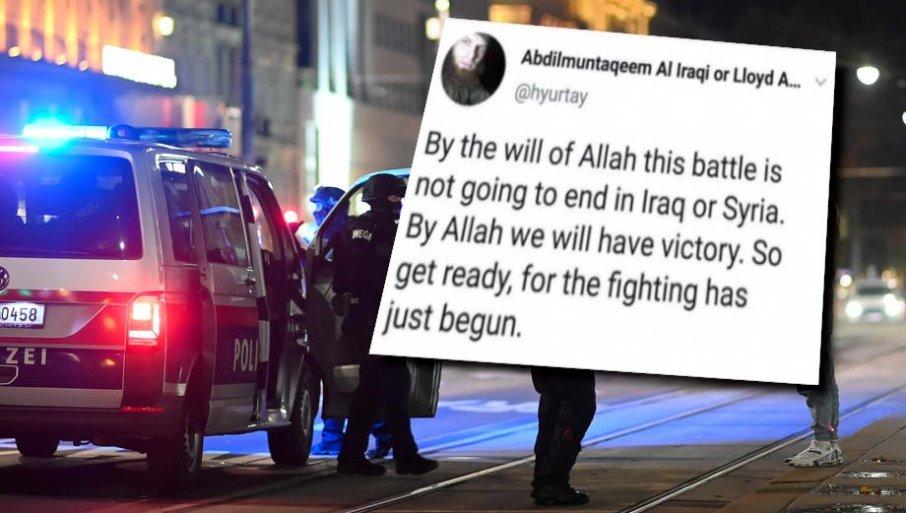 Се колнам во Алах, ОВА Е САМО ПОЧЕТОК: Гаден закани на наводниот исламист до австриската полиција - подгответе се, борбата штотуку започна