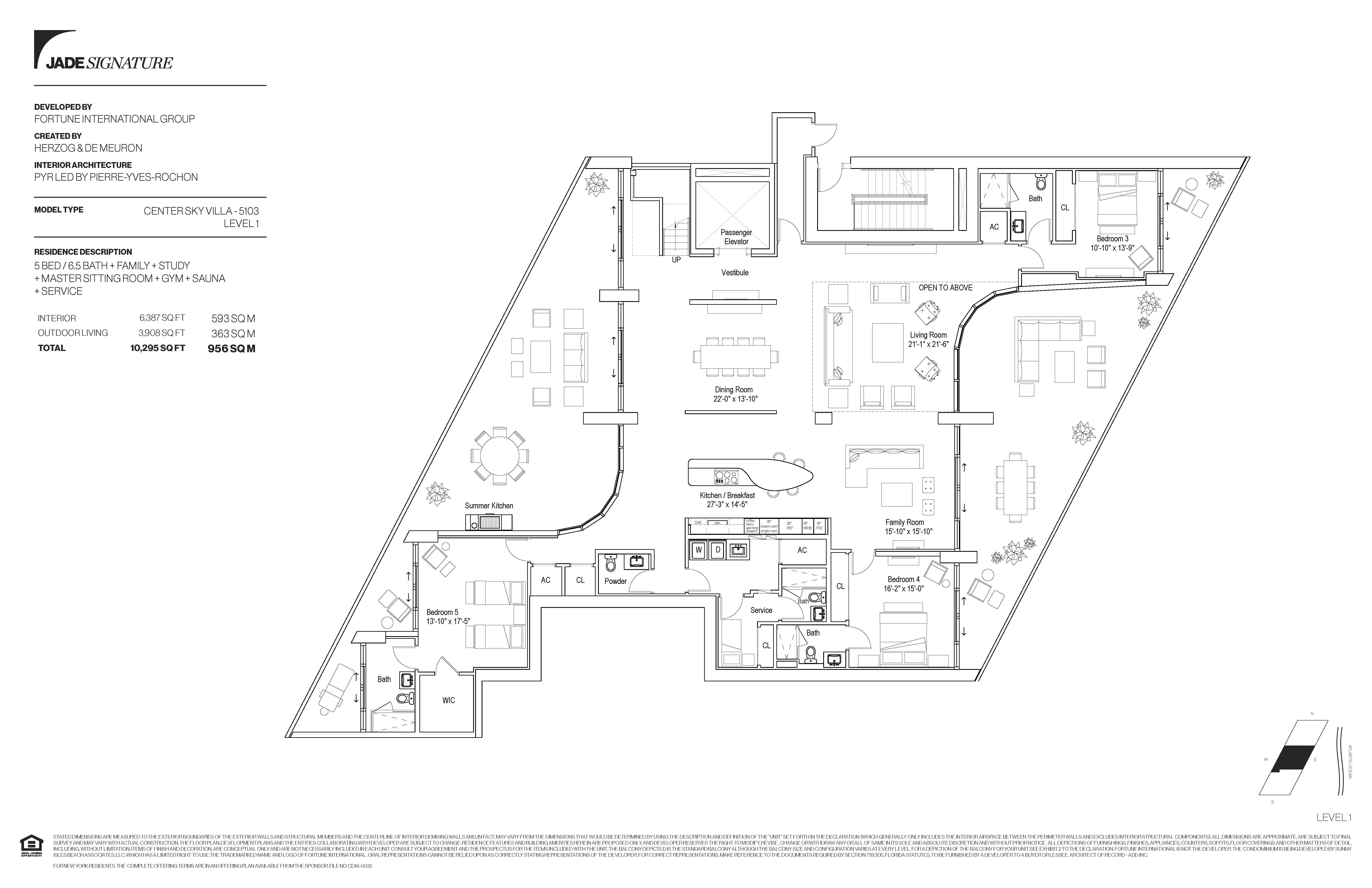 Center Sky Villa 5103 Level 1