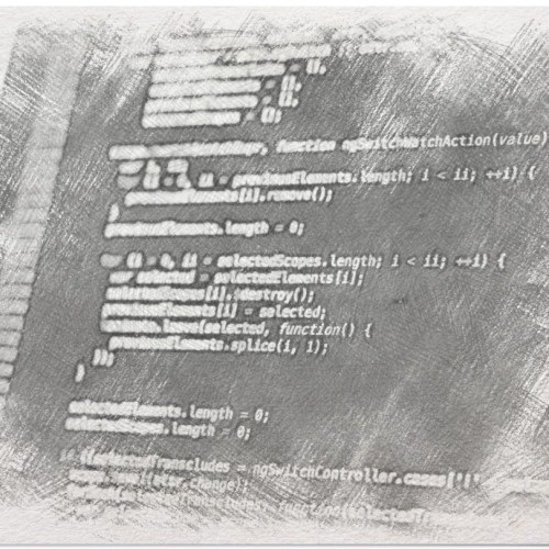 pantalla de código representando el Proceso de la rueda de innovación