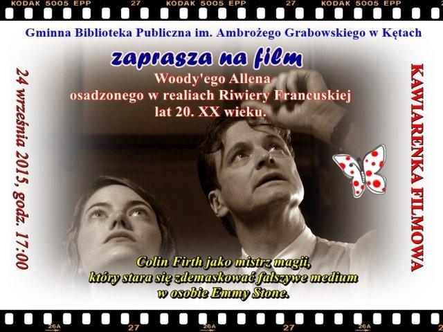 Kawiarenka filmowa 24.09.2015