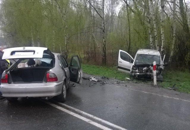 KPP Oświęcim Brzeszcze wypadek drogowy śmiertelny 09.04.2016 (5)