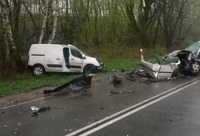 KPP Oświęcim Brzeszcze wypadek drogowy śmiertelny 09.04.2016