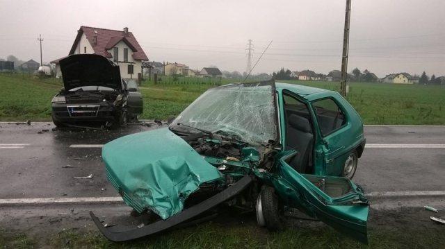 KPP Oświęcim Oświęcim wypadek drogowy śmiertelny 9.04.2016 (3)