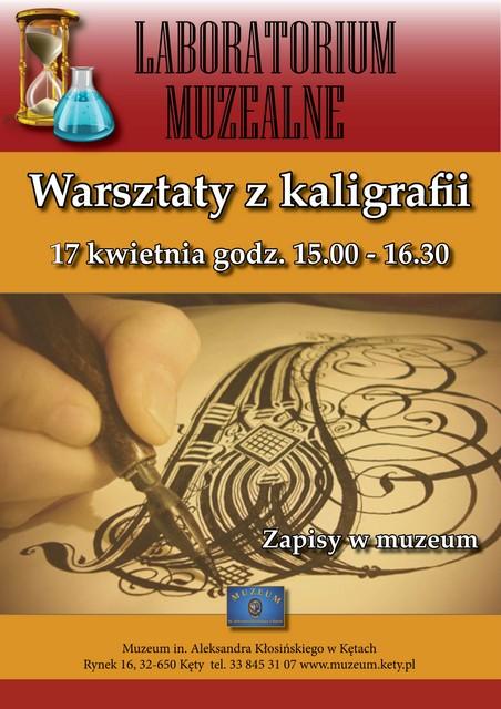 Plakat kaligrafia